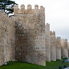 The walls around the old town of Ávila contain 88 forified turrets. The building of the walls was started in 1090AD.