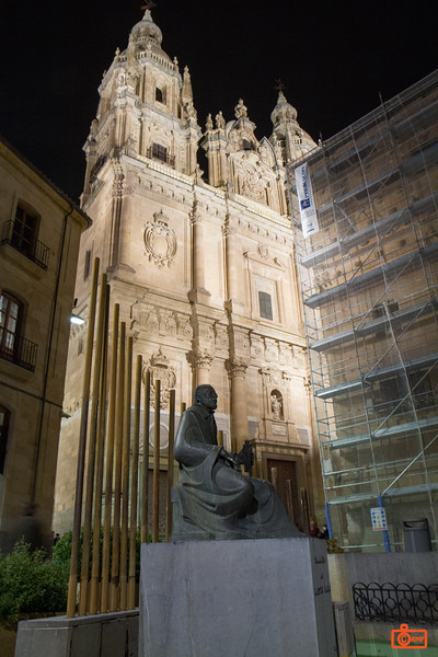 The Church of the Holy Spirit is part of the Unversity of Salamanca.