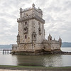 Belém Tower was built in the early 16th century. The tower provides excellent defensive point for the Targus River.