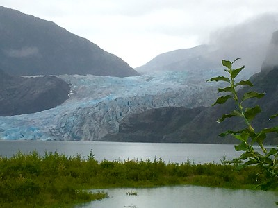 7-B. Juneau and Mendenhall Glacier (iPhone photos)