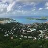 Lookout from Valdemar Sr. Dr. over Charlotte Amalie