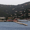 Arriving in Road Town, capital of Tortola, BVI