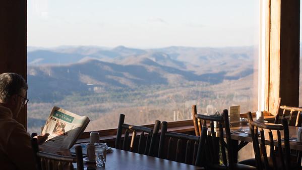 Views from the Pisgah Inn