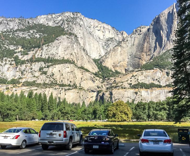 Cook's Meadow toward Yosemite Fall