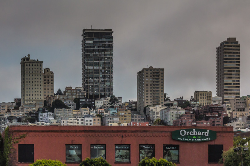 For a sense of the hills of San Francisco.