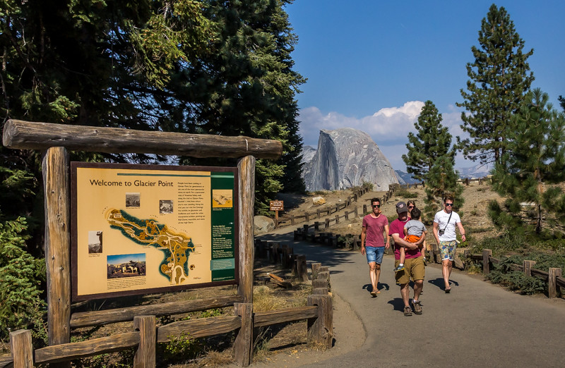 Welcome to Glacier Point