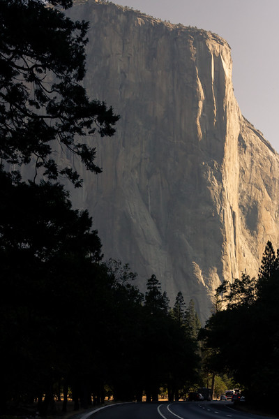 Sunset over El Capitan