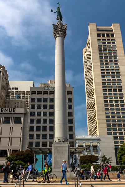 Dewey Monument in Union Square