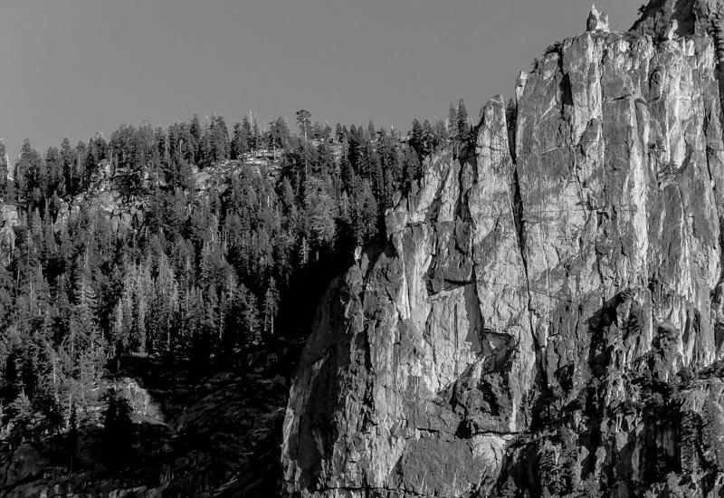 Sentinel Rock Ridge (B&W)