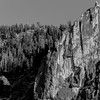 Sentinel Rock Ridge (B&W)