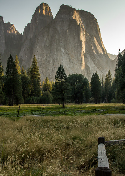 Cathedral Peak Over Yosemite Valley