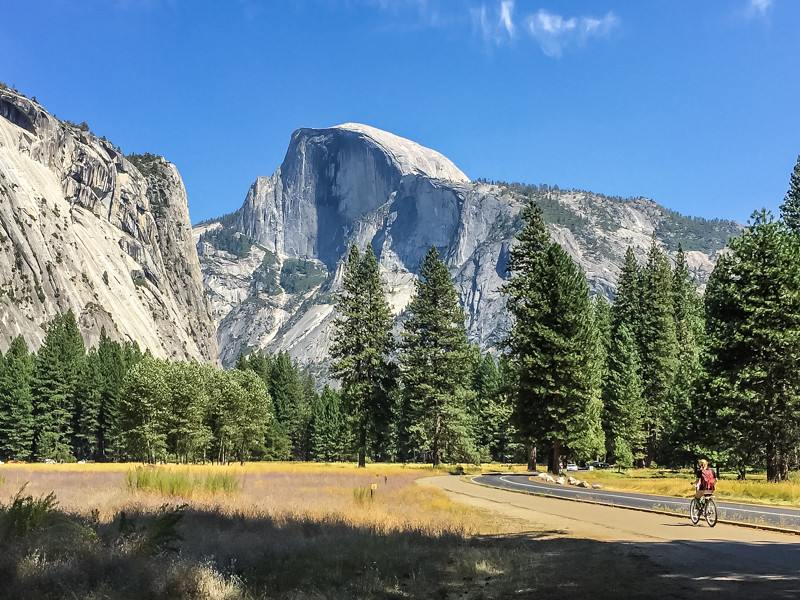 Ahwahnee Meadow with Half Dome