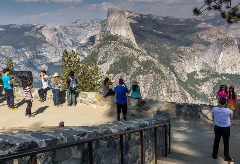 Glacier Point Overlook