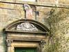 Classical door lintel.
