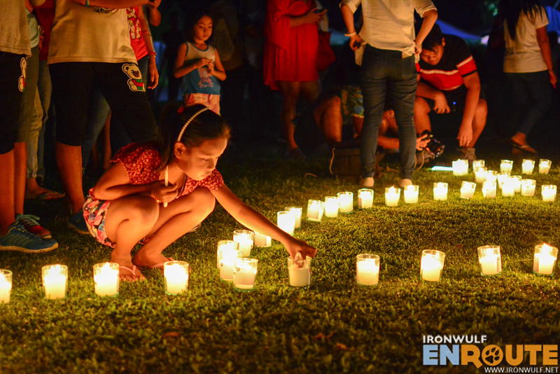 More candle lighting at McArthur Park