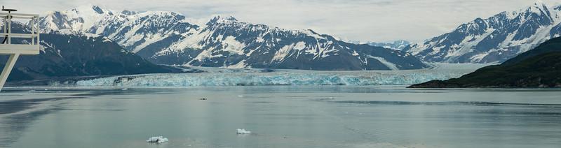 Approaching Hubbard Glacier, AK