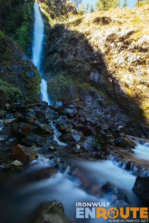 Finally the falls