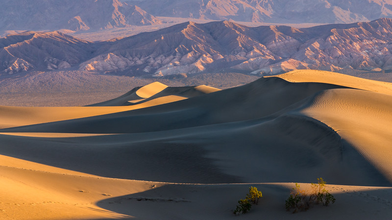 Death Valley - Mesquite Flats Sand Dunes