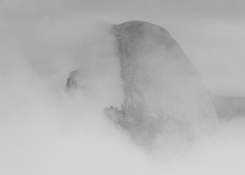 Yosemite - Half Dome Obfuscated
