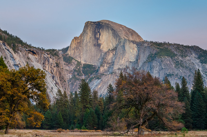Yosemite - Half Dome at Sunset