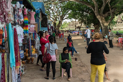 Vendors - Angkor Wat, Cambodia