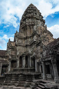 The central tower of Angkor Wat, Cambodia