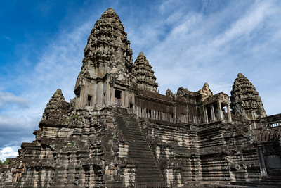 The five towers of Angkor Wat, Cambodia