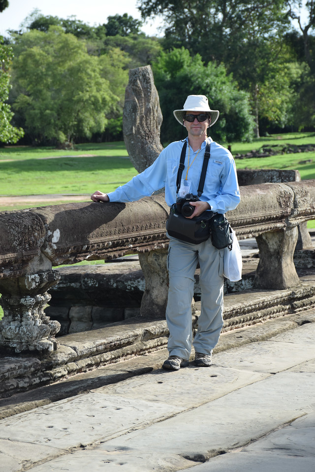 David at Angkor Wat. Photo by Robin Kravets.