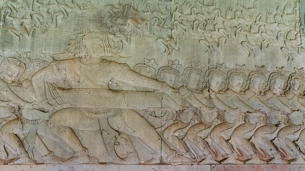 Many-headed god - Angkor Wat, Cambodia