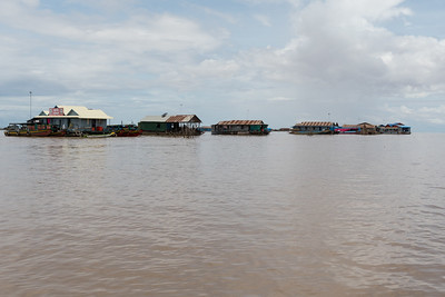 Floating Village near Siem Reap, Cambodia.
