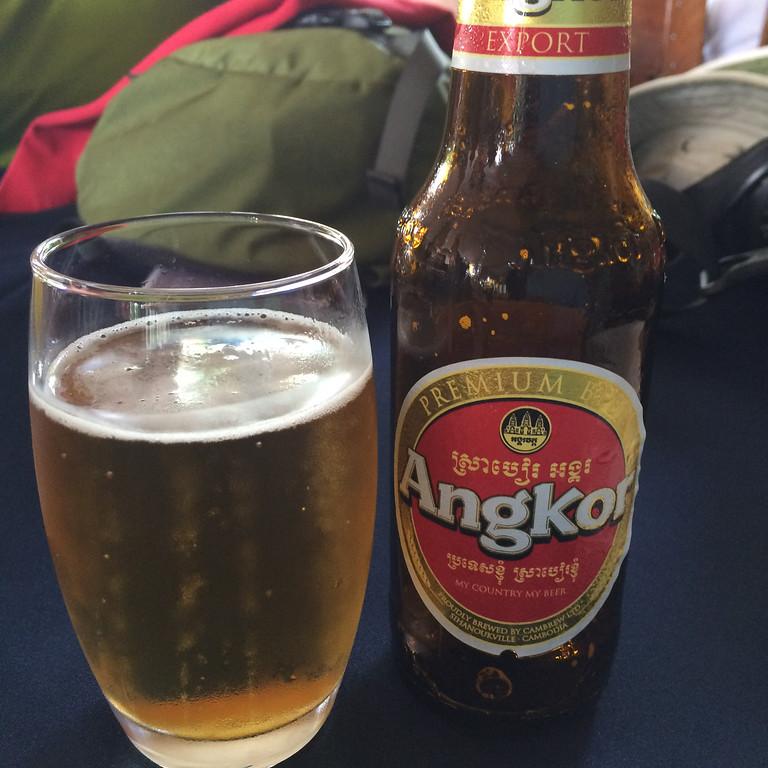 Angkor beer!