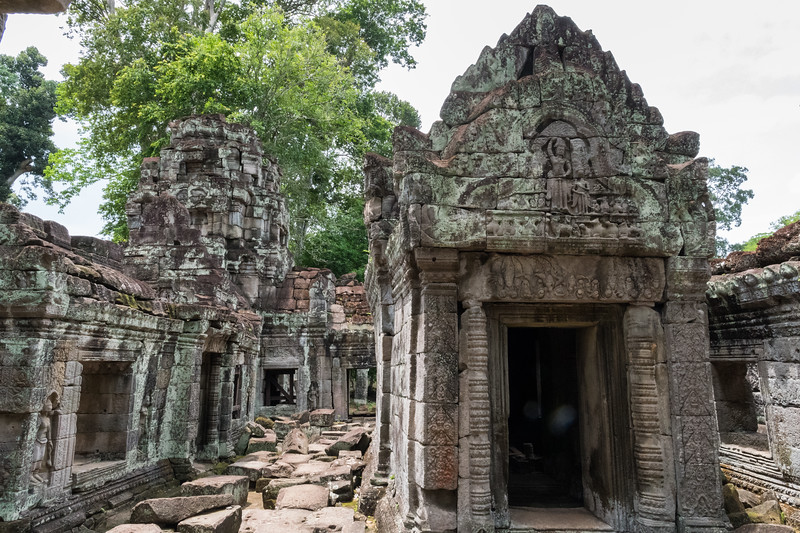 Preah Khan - 12c Angkor-area Buddhist temple.