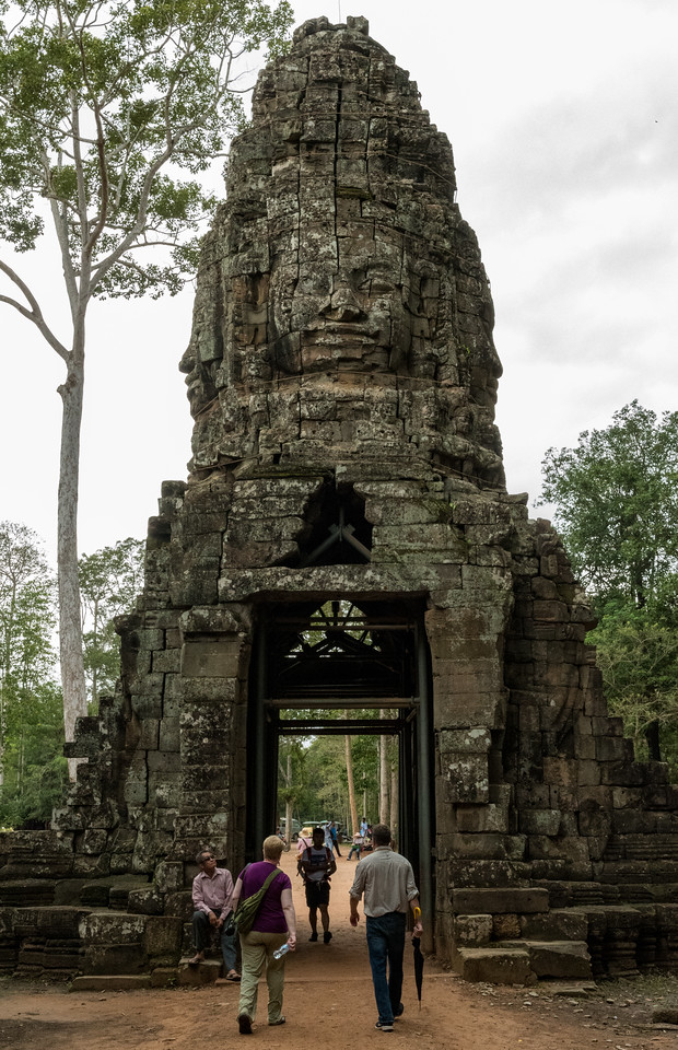 West Gate of Ta Prohm - 11c Buddhist Angkor-area temple