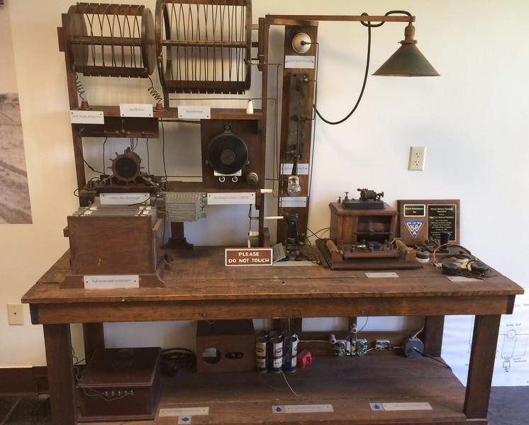 Marconi historic site, Cape Cod: site of the first transatlantic wireless telegraphic message.