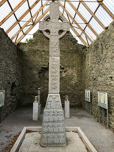 Moone Abbey High Celtic Cross