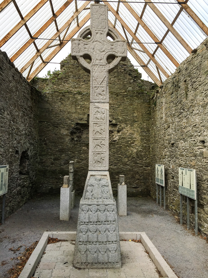 Moone Abbey High Celtic Cross