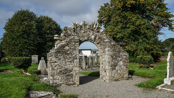 Romanesque Doorway, Resconstructed at Castledermot from the 1150.