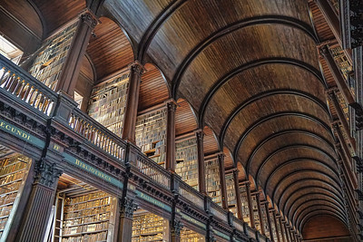 Long Library at Trinity College, Dublin