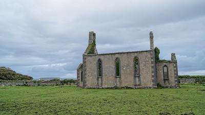 Ruins on Inis Mor, Aran Isles, Ireland