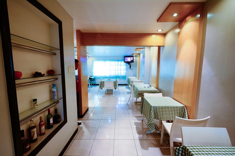2nd floor breakfast dining area