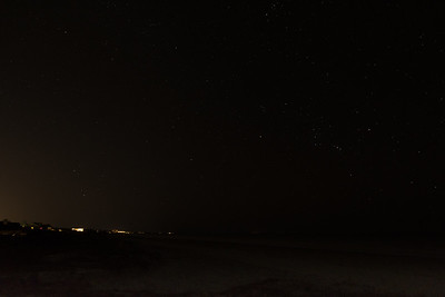 Orion rises over Kiawah Island