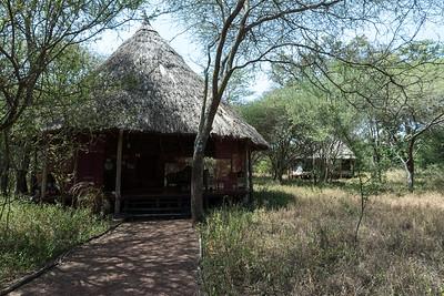 Open-air sitting room - Ndarkwai Ranch, Tanzania