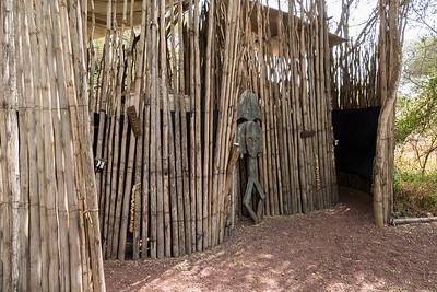 Public restrooms near dining area - Ndarkwai Ranch, Tanzania
