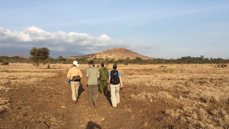 Walking safari at Ndarkwai Ranch. Video by Ken Kaliski.
