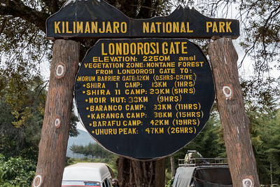 Londorosi Gate, Kilimanjaro National Park