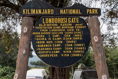Londorosi Gate, Kilimanjaro National Park