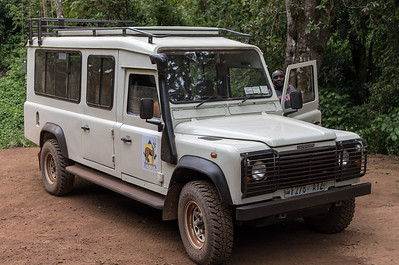 Thomson Safaris Landrover, and our driver Mohamed.