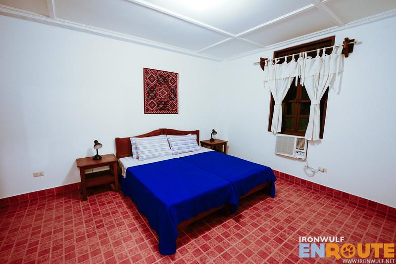 The suite room main bedroom