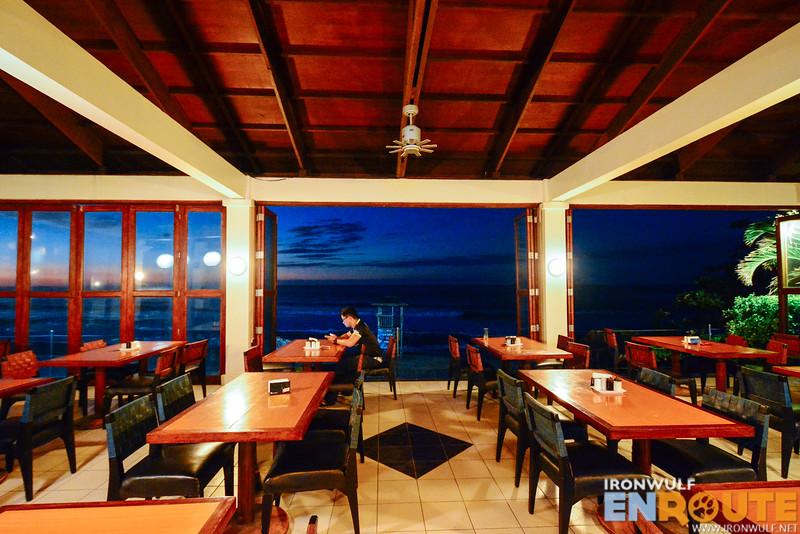 Big Kahuna Bar and Restaurant at sunset