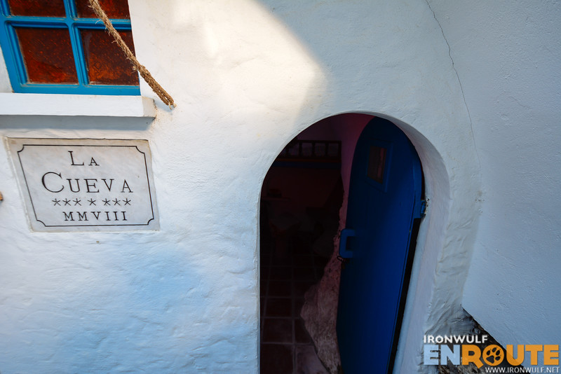 Entrance to La Cueva